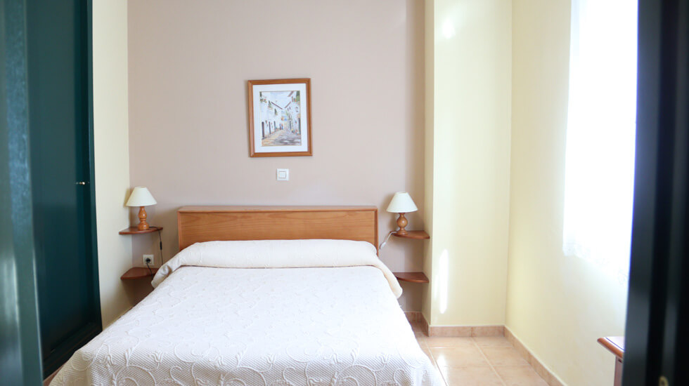 habitacion doble cama matrimonio