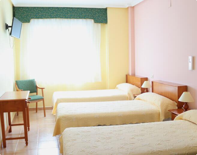 vita habitaciones hostal Elvira en Tarancón